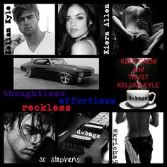 Thoughtless. Effortless. Reckless. SC Stephens great books can't wait for reckless