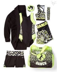 Dance is life! Our made-to-match dance collection can keep up with your every move!