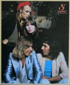 Brian Eno, Nico, Kevin Ayers & John Cale