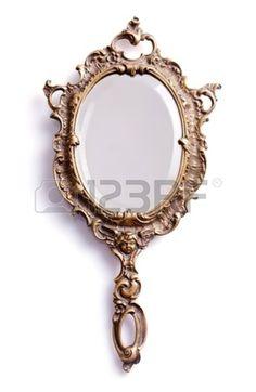 17889791-beautiful-vintage-isolated-hand-mirror.jpg (879×1350)