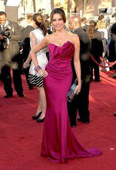 Sofia Vergara's Top Ten Red Carpet Looks