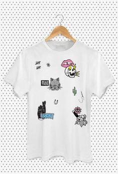 T-shirt Russian Patches ZI8873