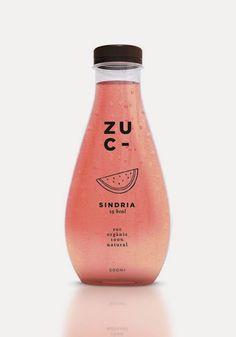 Packaging / บรรจุภัณฑ์ขวดน้ำผลไม้น่ารักๆจาก Zuc by Miriam Vilaplana จาก Bunjupun.com