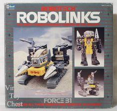 Robotech: Robolinks Force 31 figure set.