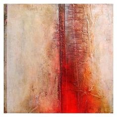 © bonaffini Red Abstract Art, Contemporary Abstract Art, Abstract Images, Abstract Paintings, Artist Project, Paintings I Love, Diy Wall Art, Types Of Art, Diy Painting