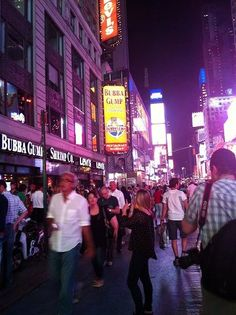 Been there! Time Square New York Bubba Gump Shrimp