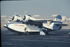 Grumman Goose , Catalina Island I remember flying over to the Island in these.  Loved it!  Wish they still flew them