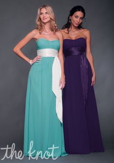Bill Levkoff Bridesmaid Dresses- tiffany blue bridesmaids!! Purple has been my favorite color, but these tiffany blue dresses make the tiffinay blue color seem very possible. So cute!