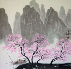 Spring in South China - Chinese Landscape Painting