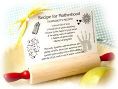 Looking for a unique favor that is also practical? Our Baby Shower Rolling Pin Recipe Card Holder baby shower favor. Baby Poems, Mom Poems, Father Poems, Baby Shower Favors, Baby Boy Shower, Baby Shower Gifts, Recipe Card Holders, Recipe Cards, My Best Recipe