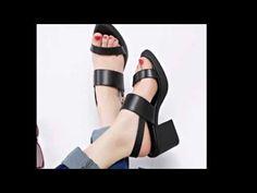 รองเท้าเพื่อสุขภาพ ดีไซน์รองเท้ามีส้นหนังแท้ นำเข้า ไซส์34-39 พรีออเดอร์RB2249 - YouTube
