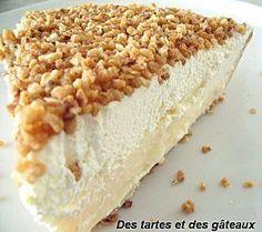 La tarte brésilienne de Belgique - Crème pâtissière vanille et chantilly sur pâte briochée