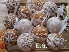 Christmas Cookies Gift, Christmas Sweets, Plant Labels, Cookie Gifts, Biscotti, Cake Pops, Gingerbread, Good Food, Clay