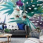 Wall Mural Orchid   • Inspirations • PIXERSIZE.com