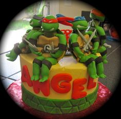 Teenage Mutant Ninja Turtles  Cake Decorating Community Cakes We cakepins.com