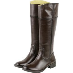 Bussola Trapani Knee High Riding Boot - Brown