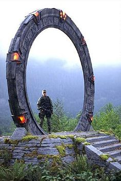 A Stargate is a portal device within the Stargate fictional universe that allows practical, rapid travel between two distant locations. (Real.. Not Fiction..)