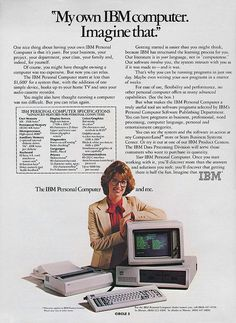 IBM Computer Ad.