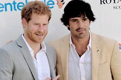 Prince Harry with Nacho Figueras arriving to take part in the Sentebale Royal Salute Polo Cup at the Singapore Polo Club | June 5, 2017