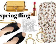 SPRING FLING / Baum und Pferdgarden dress
