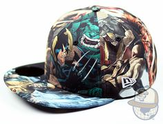 new era cap marvel ♥ need this now