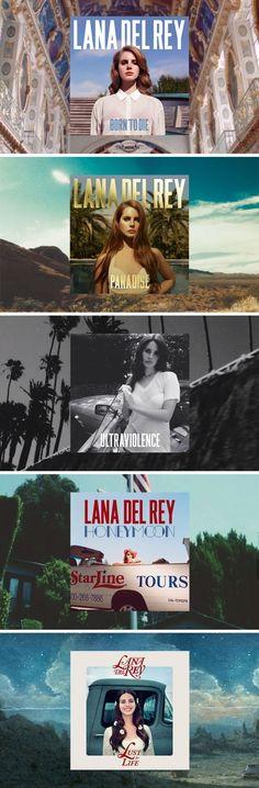 Lana Del Rey #LDR #discography