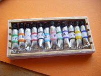 la stanza di giuggiola: Tutorial per i tubetti di tempere - Paint tubes tutorial