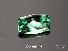 Short video about Tourmaline. GIA (041814)  As GIA Alumni at Renaissance Fine Jewelry we love to teach people about all the extraordinary gems in the world and the unique ones that had huge investment potential.