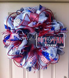 Hey, I found this really awesome Etsy listing at https://www.etsy.com/listing/112682524/houston-texans-deco-mesh-wreath