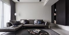Planes of Greyscale by Ris Interior Design