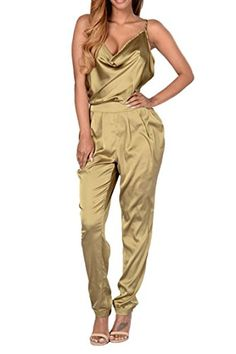 f6861b781780 Open Back Slik Spaghetti Strappy V Neck Low Out Sleeveless Sexy Club Party Jumpsuit  Woman Jumpsuit Summer 2017 Overall Romper