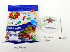 Easy Jelly Bean Bracelets | artzycreations.com
