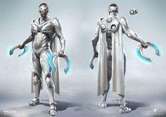 Wraith Concept Art, Paragon