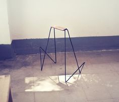 magazine stool via Lyla & Blu