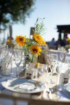 Country Wedding Table