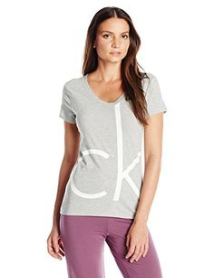 Calvin Klein Women's Short Sleeve V-Neck Top - http://www.darrenblogs.com/2016/08/calvin-klein-womens-short-sleeve-v-neck-top/