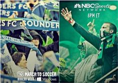 Seattle Sounders vs. Portland Timbers live on  NBC Sports Network #RivalryWeek