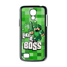 Minecraft Like A Boss Samsung Galaxy s4 Mini Case $16.89 #minecraft #likeaboss #matrix #game #galaxys4mini #galaxys4minicase #galaxys4minicover