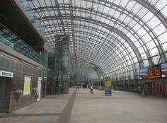 Porta Susa Station, Turin, Italy
