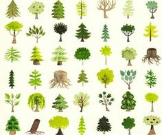 Find images and videos about art, nature and green on We Heart It - the app to get lost in what you love. Tree Illustration, Illustrations, Doodle Drawing, Environment Design, Art Design, Tree Art, Textures Patterns, Art Reference, Concept Art