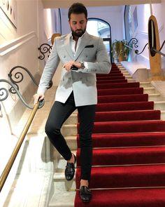 Suit Up, Suit And Tie, Blazer Outfits Men, Black Suit Men, Formal Men Outfit, Designer Suits For Men, Mens Fashion Suits, Men's Fashion, Herren Outfit