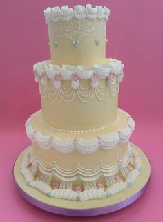 Wedding cake from Debra Lawson