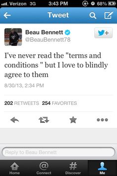 More Beau Bennet on Twitter...the fun never ends