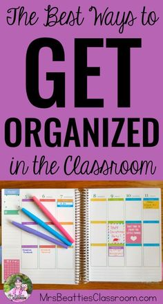 Classroom organization doesn't come easily to everyone. If you're a teacher looking to better organize your life in (and out of!) the classroom, this post is for you! Grab ideas, free app ideas and discounts for getting organized in your elementary or mid