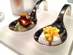 Aqua Restaurant Ritz Carlton Wolfsburg// very cool dish design