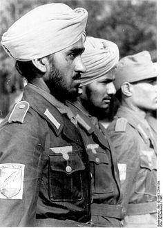 Indian Wehrmacht volunteers - Indische Legion (1942, location unknown)