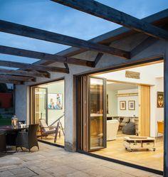 House Extension,  Patio garden