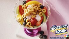 @Matty Chuah Biggest Loser approved Cheerios Chill-Out Parfait