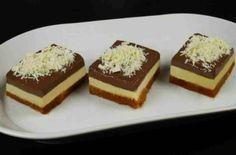 Γρήγορο γλυκό ψυγείου σοκολάτα - βανίλια με λίγες θερμίδες - Γεύση & Συνταγές - Athens magazine Food Videos, Cheesecake, Muffin, Pudding, Sweets, Breakfast, Desserts, Recipes, Gastronomia