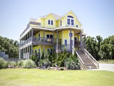 Outer Banks Vacation Rentals | Avon Vacation Rentals | Fly Away #975 |  (6 Bedroom Soundside House)